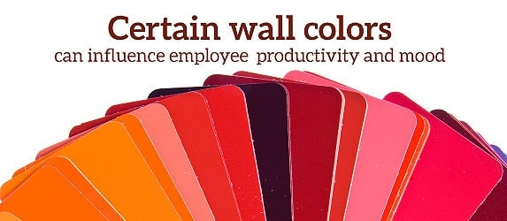 wall colors influence employee productivity