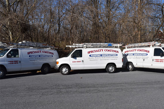 specialty coatings trucks