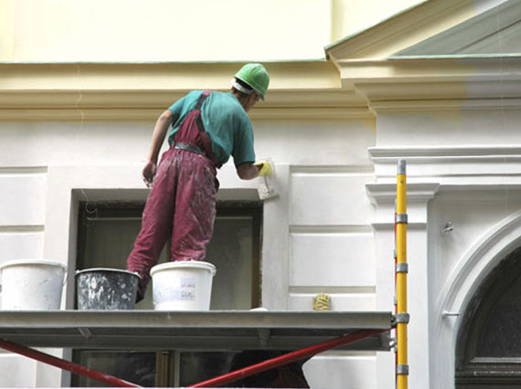 stucco and dryvit paintig services