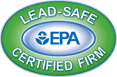 lead safe and EPA certified
